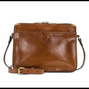 Patricia Nash Nazaire Top Zip Crossbody Bag.